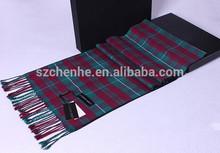 Fashion scarf custom silk scarf 100% silk brush scarf