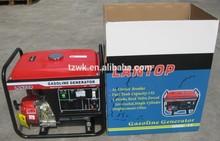 2kw-6kw electric start luantop ,motorcycle muffler, low noise, honda engine, big alternator, home use, generator india price