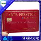 13.56mhz nfc card plastic printing birthday card
