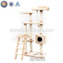 QQPET Best price Wholesale cat condo / cat condo furniture for cat