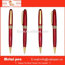 Chinese Red barrel metal ball pen