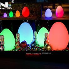 Egg shaped led light ball illuminant indoor