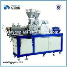 2012 new design ! pvc extrusion machine twin screw plastic extruder SJZ80