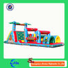 Amazing inflatable slide combo inflatable obstacle inflatable bounce house
