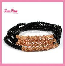Hot seller china glass beads bracelet brand imitation jewellery