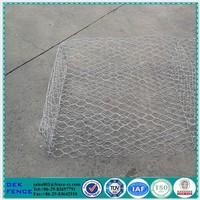 Chicken Wire Cage Rock Wall Gabion Mats