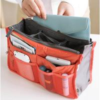 Nylon Travel Insert Handbag Organiser Purse Large liner Organizer Bag Cosmetic bag 7907