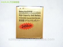 eb425161lu gold battery for samsung galaxy s3 mini i8190 i8160 2450mah