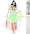 Elegante 2014 hawaii estilo de danza del vientre traje de las damas( qc2122)