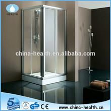 Classic Aluminum Handle Sliding Glass Shower Door JK819