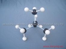 Molecule structure model / PVC Molecule