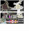 2014 profissional qulity alta mais barato digital glitter kit tatuagem para tatuagem venda quente arma