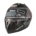 Abs flip up casco de la motocicleta, jk105 con visera