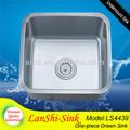 cucina in acciaio inox tavolo ls4439 sottopiano lavello in acciaio inox