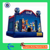 promotion customized inflatable bouncy castle for business use inflatable combo slides