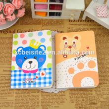 B024 Korea bear series cartoon cute quality custom writing notebook