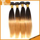 "16"" 18"" 20"" 3pcs/Set 6A High Quality Human Hair Weaves Free Shipping DHL Two Tone Color 1B/27 Blonde Hair Straight Virgin Hair"