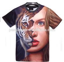 Sublimation Latest Design of Half Shirt
