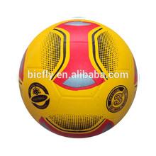 custom print soccer ball in rubber material