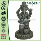 "16"" Antique Thailand God Elephant- Buddha Fountain with LED"