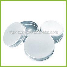 Fashion professional aluminum candle jars wholesale