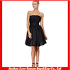 HC 4120 High Quality Cheap Price The Hot Black Sale Offshoulder Ruffle Bubble hem cocktail dress