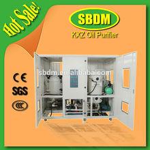 2014 KXZ Vacuum Turbine Oil Purifier oil Inlet Flow 30L/MIN. / Lubricating Oil Purification Machine