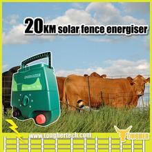 Australia farm 2 joules solar electric fence energiser for Brazil animals