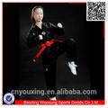 artes marciales taekwondo personalizado negro dobok