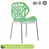 New Design Metal Framed Plastic Restaurant Dining Chair