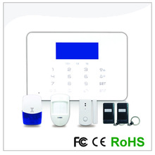 Hot Sales!!!New product 15 Wireless zonerGSM Alarm System Alert Monitor Remote Control Anti-Theft Alarm