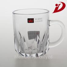 Wholesale and customize glass juice mug