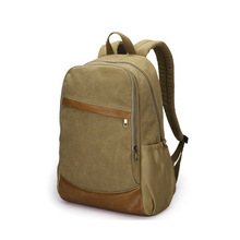 Canvas Sport Backpack For School