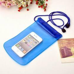 Mobile Phone PVC Waterproof Bag for Samsung Note 4 iPhone 6 plus