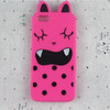 cute cell phone case silicone material in 3d cartoon design