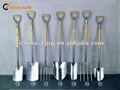 pala de acero y tenedor
