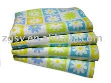 China factory customize reactive printed bath towel