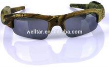 Outdoor Waterproof Sports Hunting Sunglasses HD 1080P Video