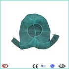 disposable non woven clip bouffant cap and gown