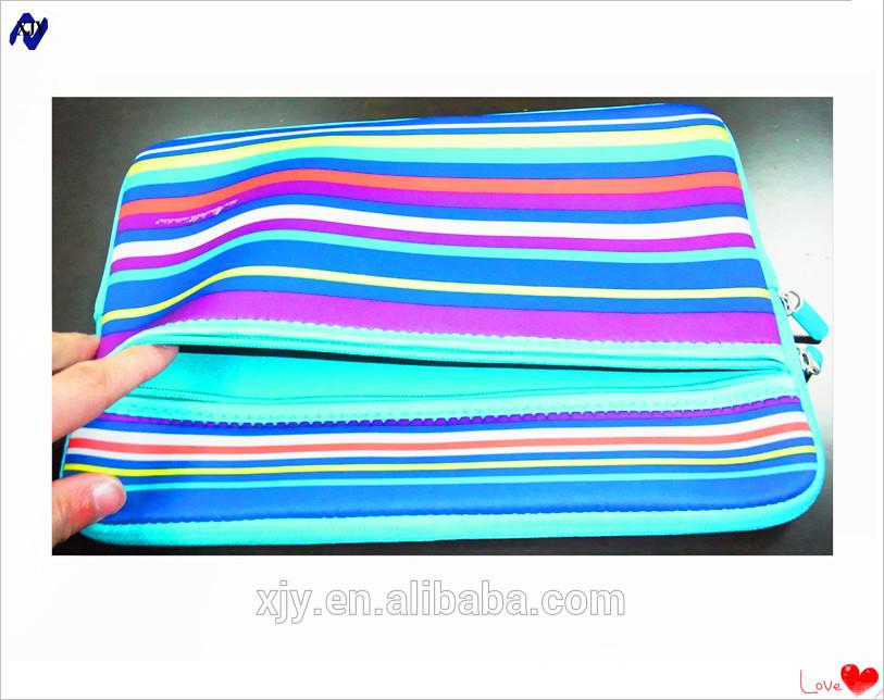soft Neoprene tablet sleeve for ipad mini/air