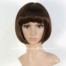 heat resistant fiber Kanekalon short hair wigs