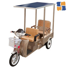 2014 hot sell three wheel 60V solar electric battery operated tricycle, rickshaw passenger tricycle for India ,Bangladesh market