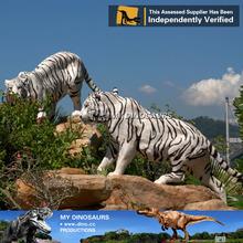 MY Dino-Fiberglass life size tiger animal statue