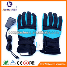Workplace safety supplier electric rubber hand gloves for winter warm
