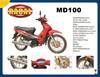 MD100 Chongqing 4 stroke 100cc dirt bike,classic street motorcycle,cub 100cc motorcycle for sale