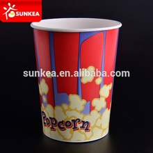 Classic Fancy Looking Film Theater Popcorn Box / Popcorn Bucket Pail