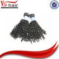 China fornecedor na china boa preço 100% real kinkly cacheados cabelo humano
