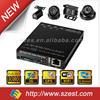 MDVR Smallest size SD Card 4CH 3G WIFI G-Sensor GPS 1080P Truck DVR