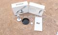 Qxt-62 2014 material de aluminio para el iphone y samsung teléfono titular de pie sobre el escritorio