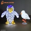 68cm 3d haut lumineux led pingouin/3d motif animaux décorations lumineuses